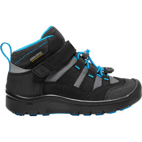 Keen Hikeport Mid WP Kengät Lapset, black/blue jewel